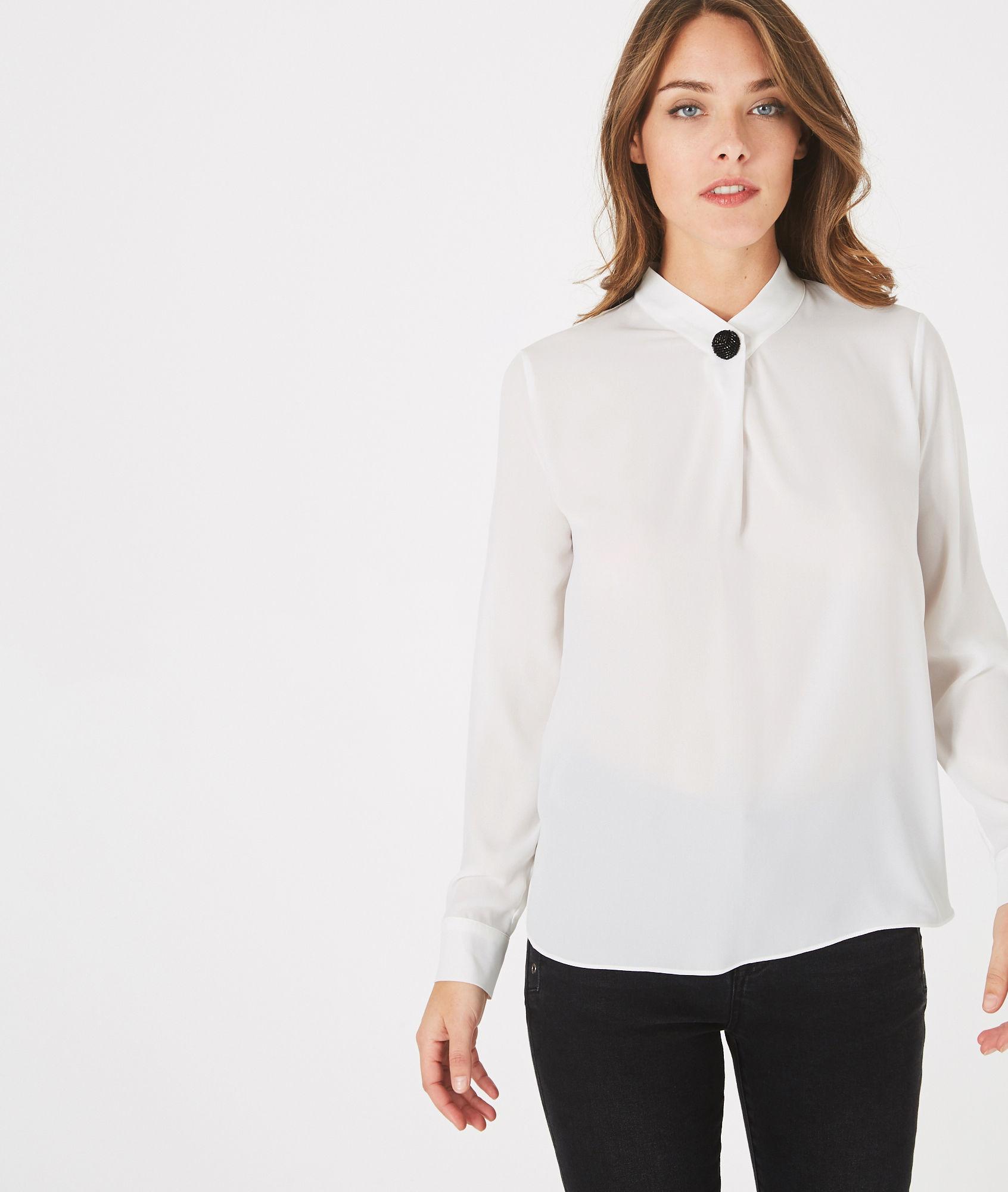 Je veux trouver une belle chemise femme et agréable à porter pas cher ICI  Chemise blanche femme 123 09f6bc3b0e90