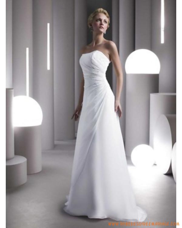 bca10b6e866 Robe de mariée simple pas cher - Chapka