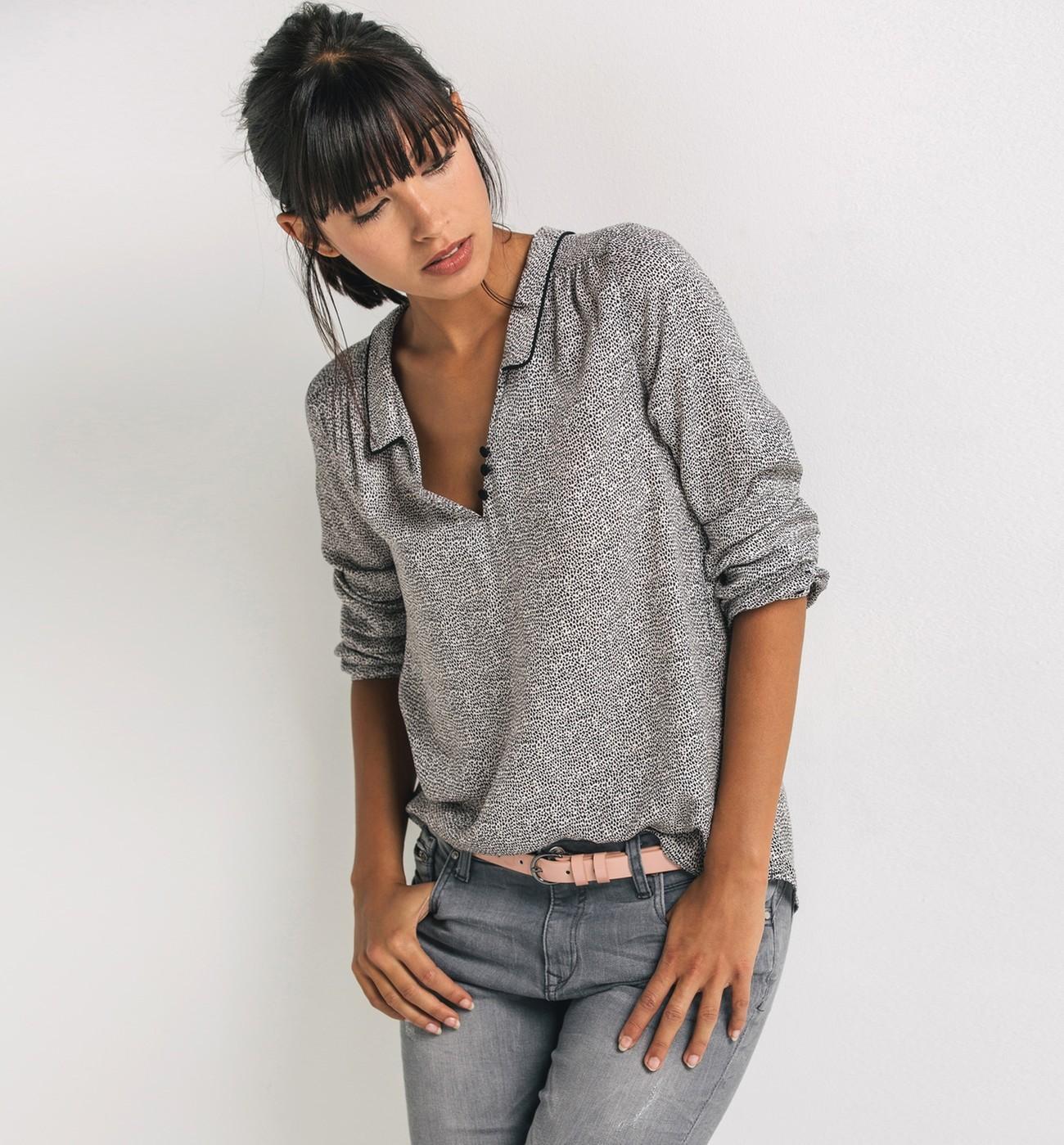 54a58c40dbe7e Je veux trouver une belle chemise femme et agréable à porter pas cher ICI  Blouse tunique femme