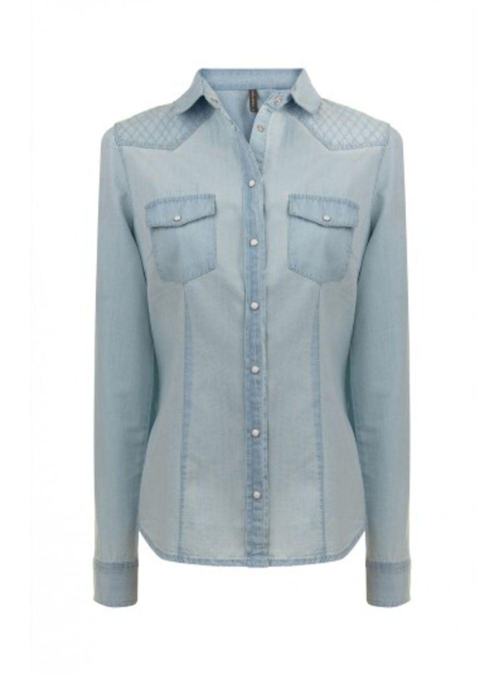Je veux trouver une belle chemise femme et agréable à porter pas cher ICI  Chemise femme jean h m 035bc9294668