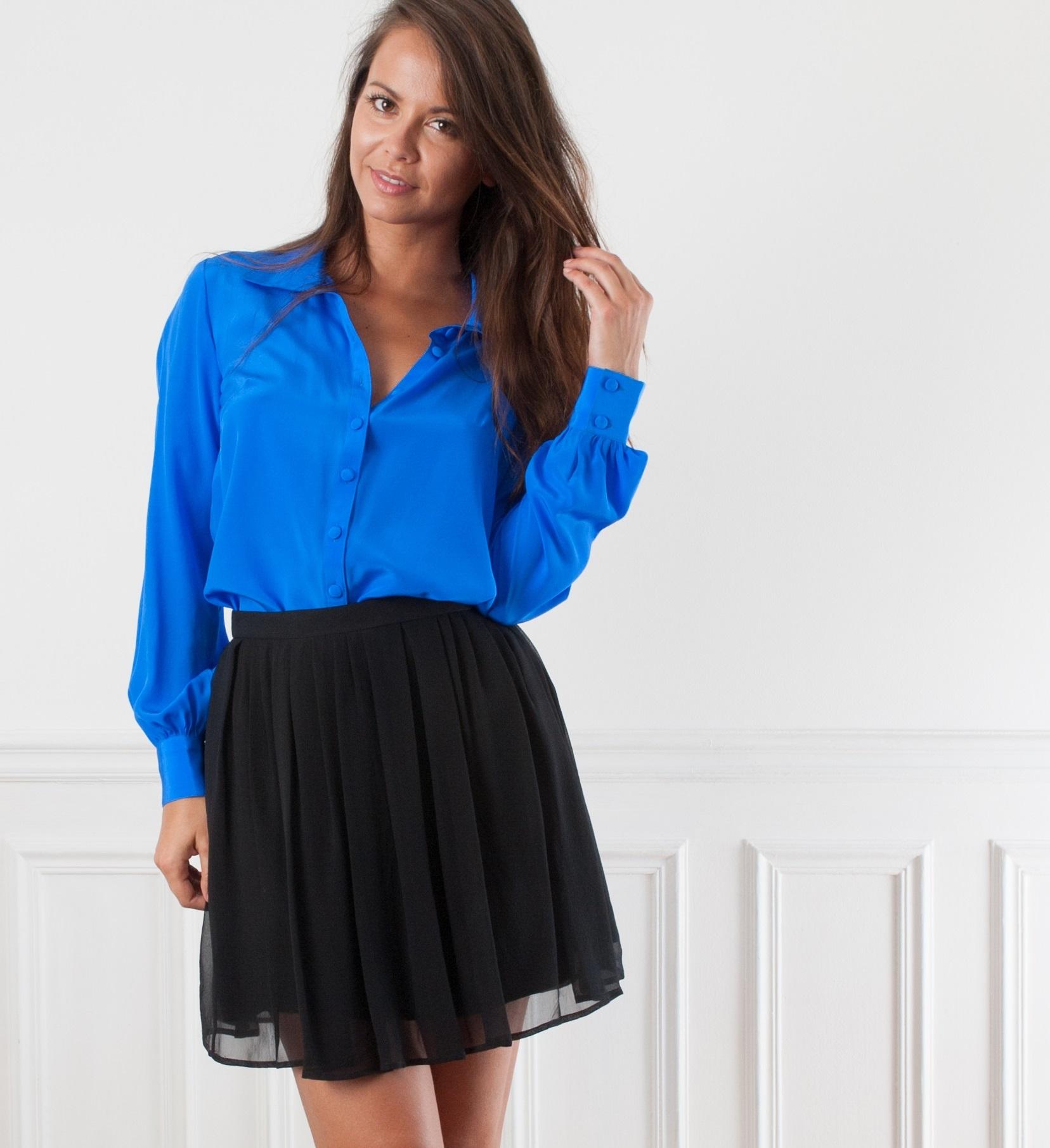1eb1332e510a5 Je veux trouver une belle chemise femme et agréable à porter pas cher ICI  Chemisier en soie
