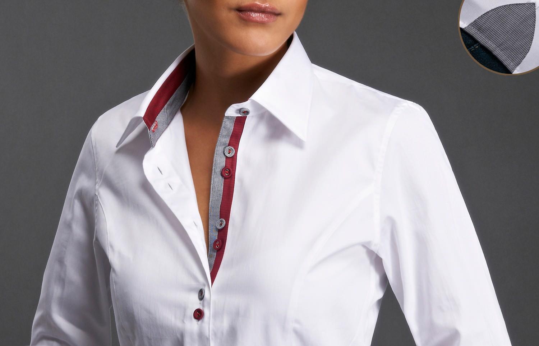 Chemise Femme Italienne Cintree Chapka Doudoune Pull Vetement
