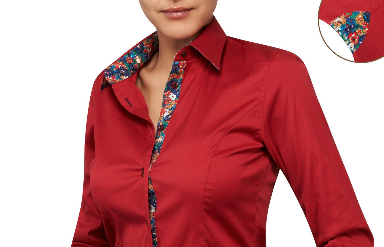f2a1ed952bc1d Je veux trouver une belle chemise femme et agréable à porter pas cher ICI  Chemisier femme rouge