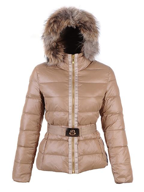 Je veux trouver une doudoune de marque femme qui tient chaud pas cher ICI Doudoune  femme moncler beige 40d2d944c53