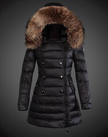 6f9ede4cf78c Je veux trouver une doudoune de marque femme qui tient chaud pas cher ICI  Doudoune femme col fourrure noir