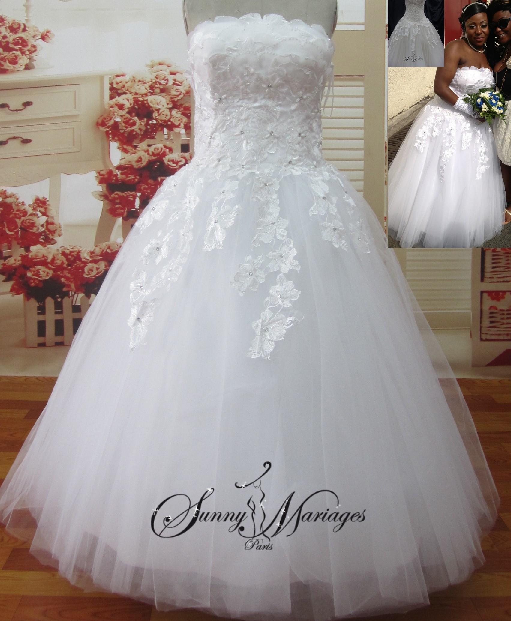 6f75fc52c6f Robes de mariée tulle - Chapka