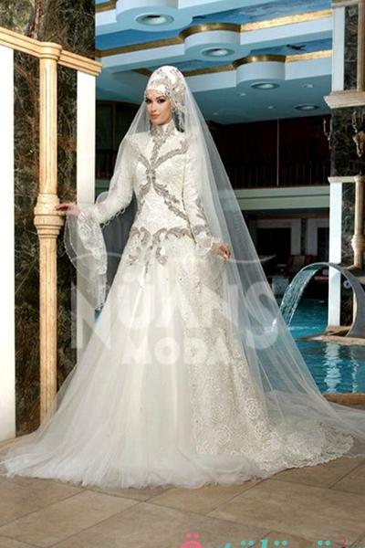d0e9d2fd3dd Robes de mariée hijab - Chapka