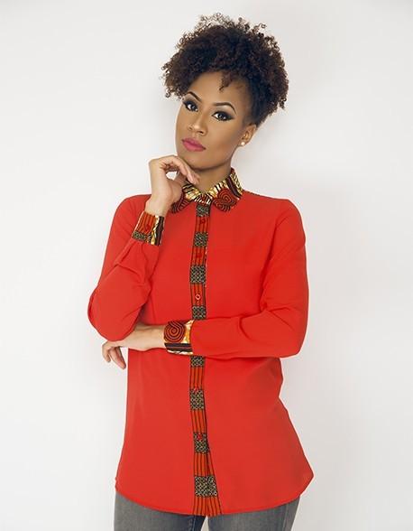 e1f7827822e6 Je veux trouver une belle chemise femme et agréable à porter pas cher ICI  Chemise femme wax