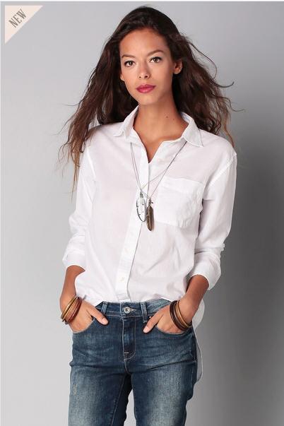 Je veux trouver une belle chemise femme et agréable à porter pas cher ICI  Chemisier coton blanc femme 148c72f4ce02