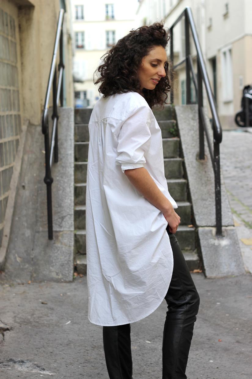 Je veux trouver une belle chemise femme et agréable à porter pas cher ICI  Chemise longue blanche 44398349baec
