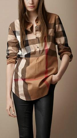 0a9e36e8e27 Je veux trouver une belle chemise femme et agréable à porter pas cher ICI  Chemise burberry femme xs