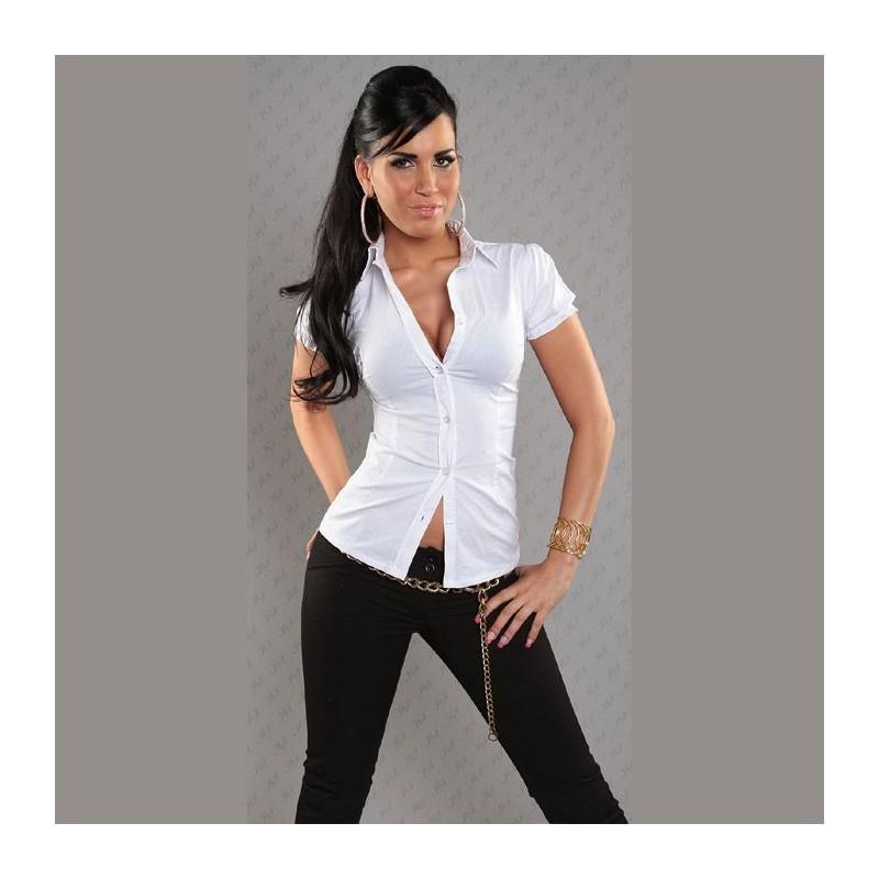 7ec32af4e46e0 Je veux trouver une belle chemise femme et agréable à porter pas cher ICI  Chemise courte femme