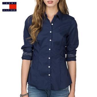 ca88d112b711 Je veux trouver une belle chemise femme et agréable à porter pas cher ICI  Chemise femme hilfiger