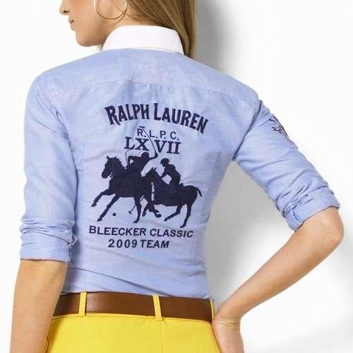 9763c790a8cc5 Je veux trouver une belle chemise femme et agréable à porter pas cher ICI  Chemise femme ralph lauren soldes