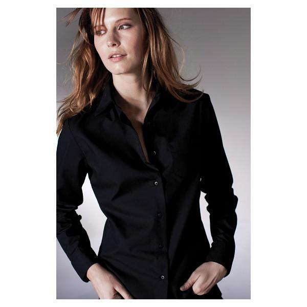 87cc9ed7f3920 Je veux trouver une belle chemise femme et agréable à porter pas cher ICI  Chemise noire femme
