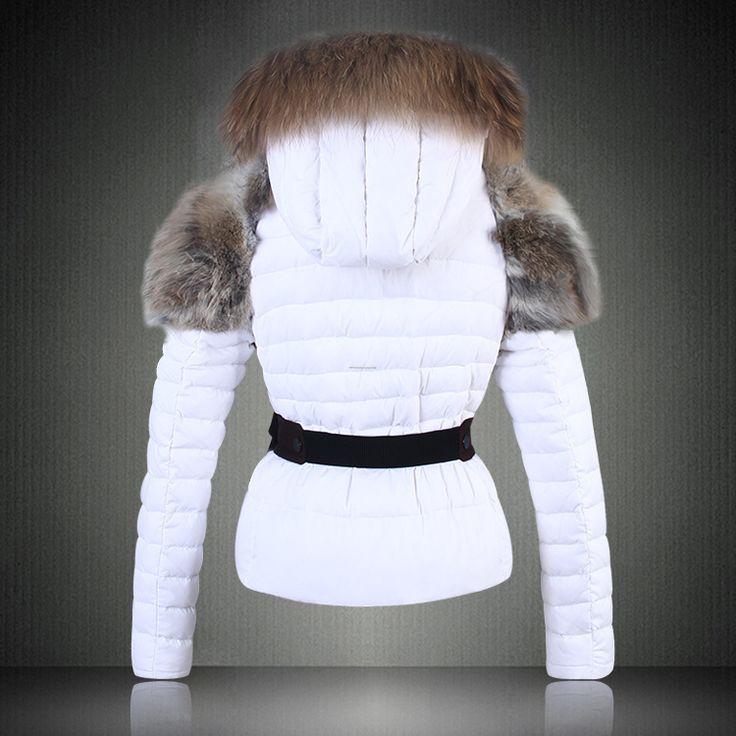 veste moncler femme blanche