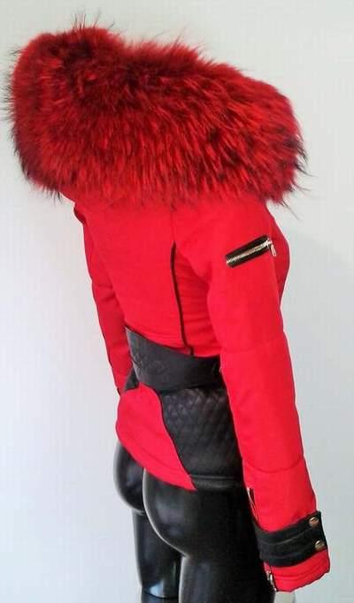 f5f83ad861a Doudoune ventiuno femme rouge pas cher - Chapka