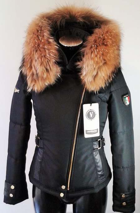 c196667fb7f4 Doudoune femme fourrure italienne - Chapka