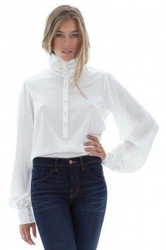 4c4b758e38080 Je veux trouver une belle chemise femme et agréable à porter pas cher ICI  Chemisier blanc habillé femme