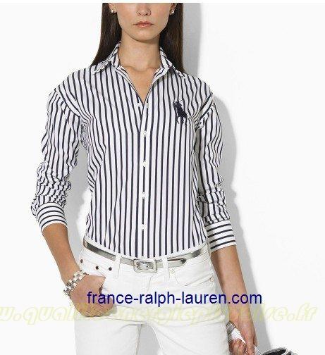 chemise a rayure noir et blanc femme chapka doudoune pull vetement d 39 hiver. Black Bedroom Furniture Sets. Home Design Ideas