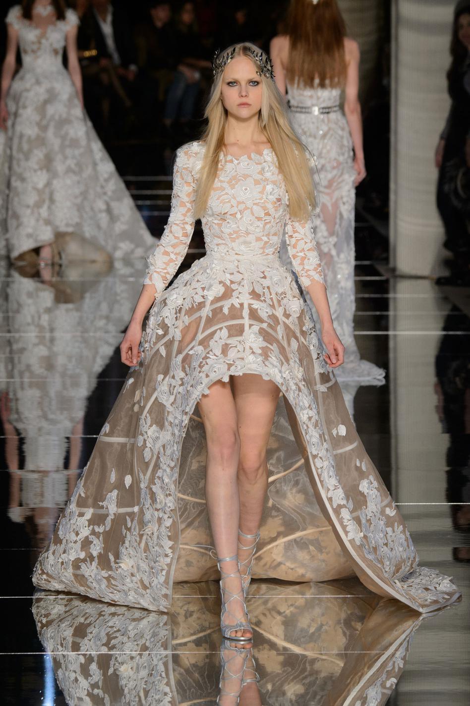 1af48025124 Robes de mariee haute couture 2016 - Chapka