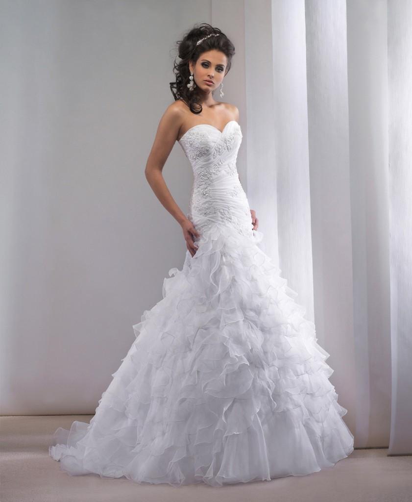 9f089e839a5 Model de robe de mariée - Chapka