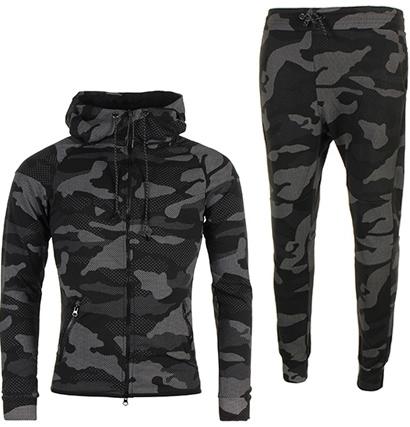 f5c79f7d6f7 Survetement nike camouflage noir - Chapka