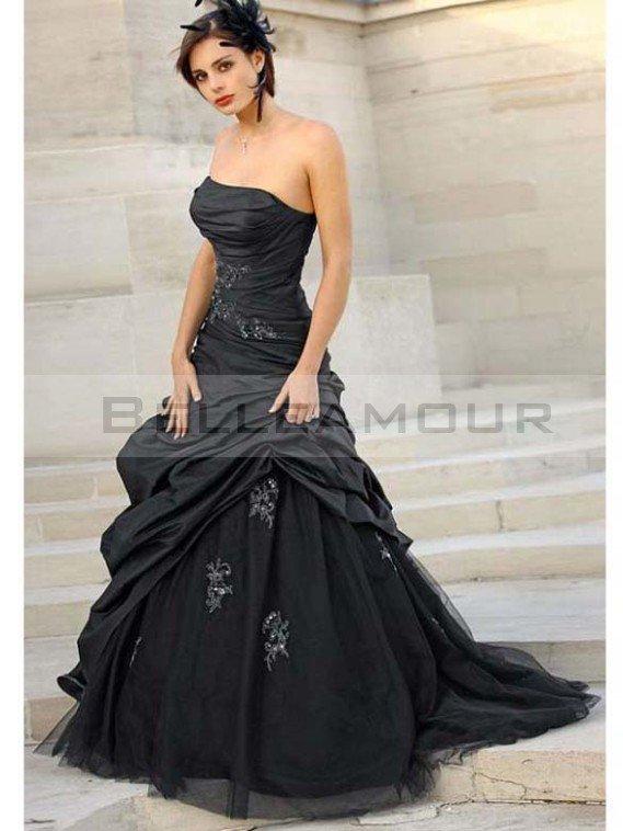 2a39e3f54c6 Je veux trouver une belle robe de soirée coloré ou élégante pas cher ICI  Robes de mariée noire ...