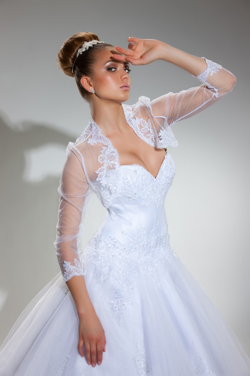 Robe de mariage pour fille ronde