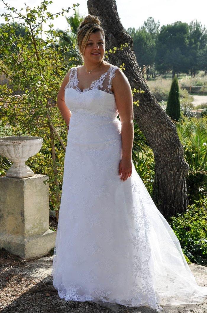 Robe de mariee femme grande taille