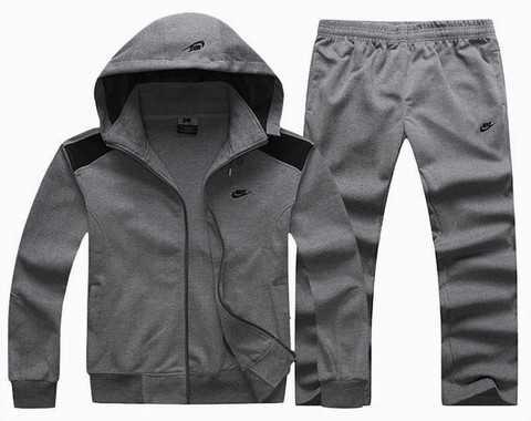 newest 38175 f2035 Je veux trouver des vêtements de sportsfitnessrunning de qualité et pas  cher ICI Ensemble nike gris homme