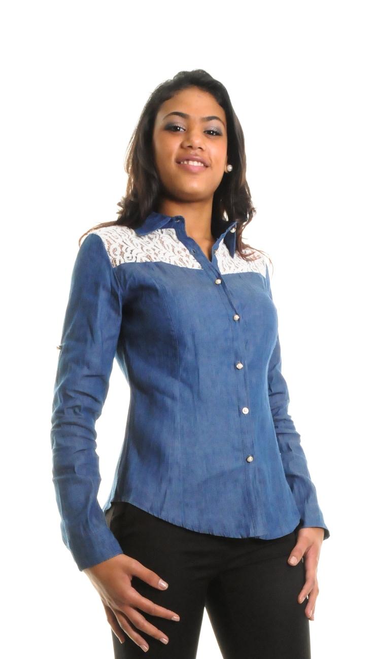42f6d9de59fa Chemise bleu jean femme - Chapka
